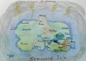 Joni Parker's Seaward Isle map