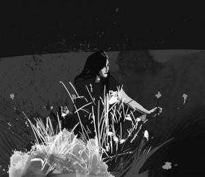 """Illustrations by Gonzalo Obelleiro for """"Songs to Make the Desert Bear Fruit."""""""