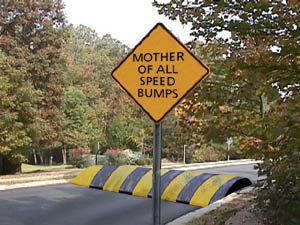 Spelling, punctuation and grammar errors are like a speed bump